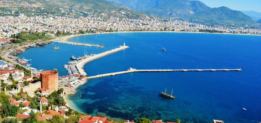 Alanya-Harbour- Golf in Turkey