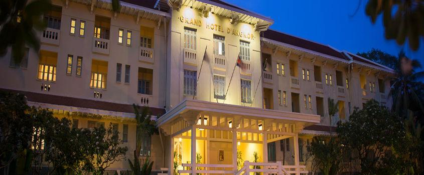 Raffles Grand Hotel D Angkor Siem Reap Book Now