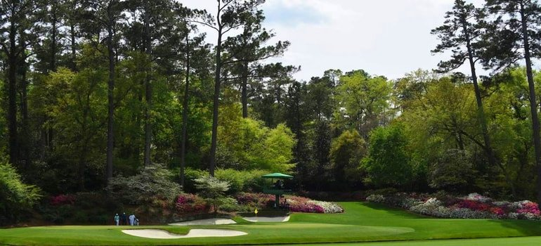 AUGUSTA NATIONAL GOLF COURSE, AUGUSTA