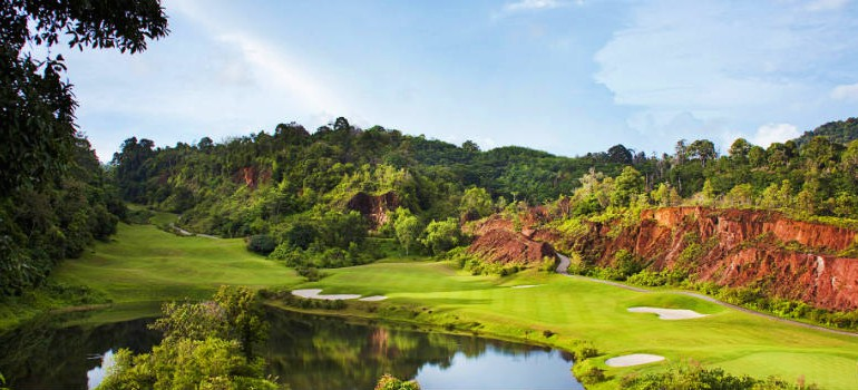 RED MOUNTAIN GOLF COURSE, PHUKET