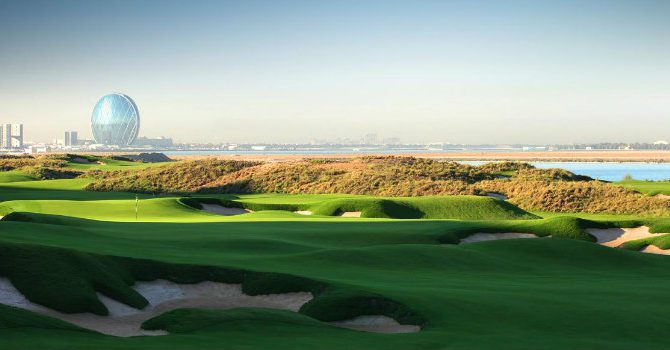 Abu Dhabi: The Best Combination of Three Golf Courses