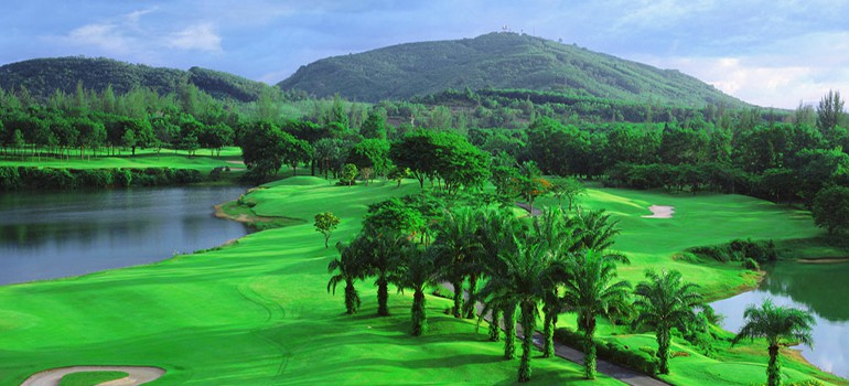 BLUE CANYON COUNTRY CLUB (LAKES COURSE), PHUKET