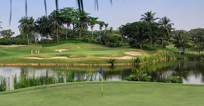 Airport Golf at Cengkareng, Jakarta