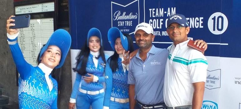 Ballantine's Team Am Golf Challenge
