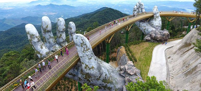 The Golden Bridge, Danang