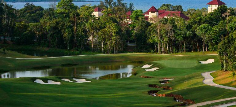 The Els Club Desaru Coast - Valley Course, Johor, Malaysia.